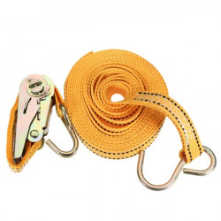 Luggage Cargo Puller Straps With Cam Buckle And Hook 25mm x 5m