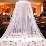 Mosquito Stoppen Bed Canopy Filetarbeits Vorhang Dome Hauswirtschaft