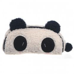 Panda Mjuk Plysch Pencil Case Penna Pocket Kosmetisk Makeup Bag