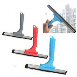 Plast Glas Fönsterputsare Skrapa Wiper Biltvätt Penslar Tool