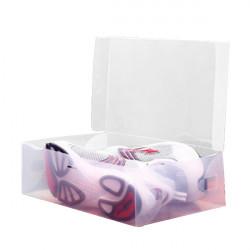 Plast Transparent Man Shoebox Opbevaring Box Mouldproof Box