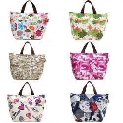Portable Waterproof Lunch Carry Tote Bag