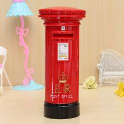 Post Kontor Box Coin Piggy Bank Spare Penge Opbevaring Box