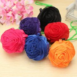 Rose Blomster Genanvendelig Folding Shopping  Indkøbsposer Tote