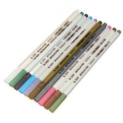 STA 3330 10 Färger Metallic Marker Pennor