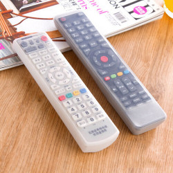 Silica Gel TV Remote Control Dust Cover Protective Gear Storage Bags