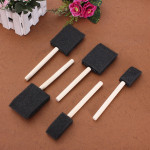 Sponge Wooden Handle Paint Craft Glass Glitter Brush Stationery