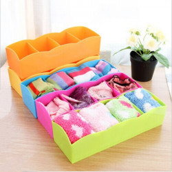 Slipsar Sock Underkläder Förvaringsbox Skrivbordet Skräp Förvaringslåda