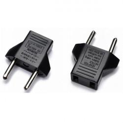 Travel Plug Adapter US To EU Canada AC Power Plug
