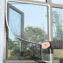 Weiß Insekt Moskito Tür Fenster Mesh Sieb Sticky Klettband Net