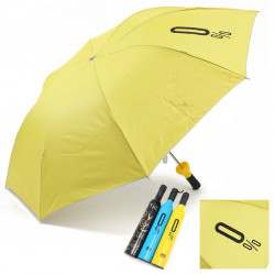 Wine Bottle Creative Gift Three Folding Rain Sun Rain Umbrellas