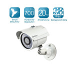 Zmodo 700TVL Ultra Hi Reso Waterproof Infrared Outdoor Security Camera Smart Home