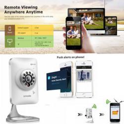 Zmodo 720P HD WiFi Mini IP Kamera Baby Monitor 2 Wege Audio Nachtsicht