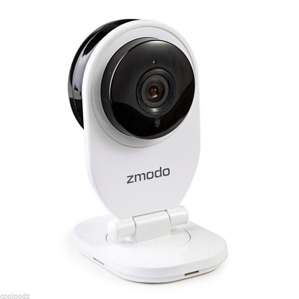 Zmodo 720p HD Trådlös IP WiFi Inomhus IR Camera Night Vision Smarta Hem