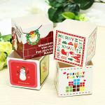 100Pcs Christmas Decorations Cups Hokkaido Chiffon Cake Cups Kitchen,Dining & Bar