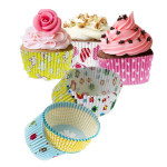 100Pcs Mixed Colorful Paper Cake Cup Liners Baking Cupcake Muffin Kitchen,Dining & Bar