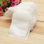 100Pcs Non-woven Fabric String Seal Tea Bag Filter Empty Kitchen,Dining & Bar