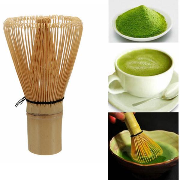 100 Prongs White Bamboo Chasen Matcha Whisk Kitchen,Dining & Bar