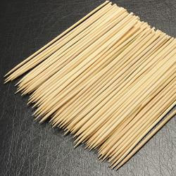 100st 15cm Kebab Skewers Bamboo grillaBBQ Frukt Stick