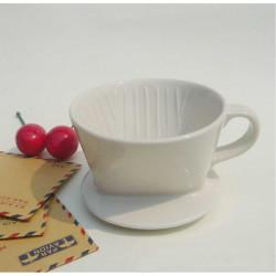 101 Manuell Keramiska Kaffefilter Kopp - Används Med Filterpapper