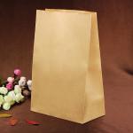 10Pcs Brown Cake Cookie Bread Baking Craft Paper Packing Bags Kitchen,Dining & Bar
