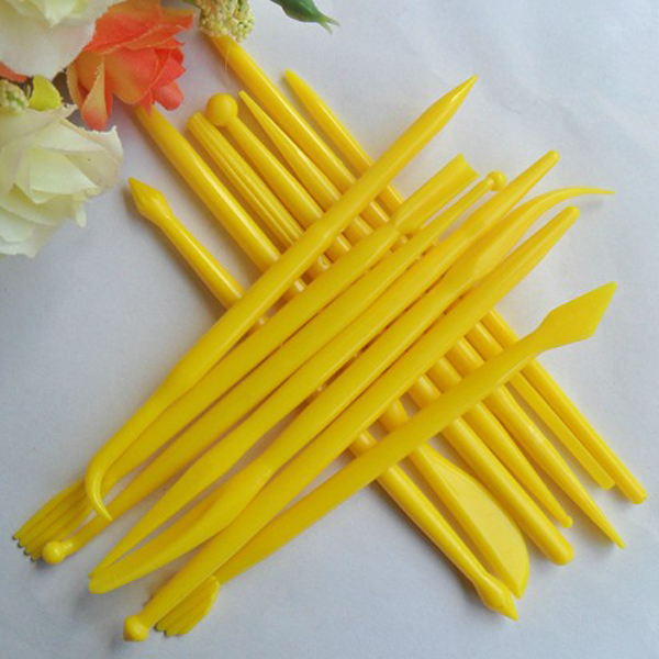 14 Pcs Cake Decorating Flower Modelling Carving Tools Kitchen,Dining & Bar