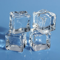 16pcs Square Fake Scatters Artificial Acrylic Ice Cubes Crystal