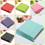 20 PCS Colorful Polka Dots Paper Napkins 2 Layers Party Banquet Kitchen,Dining & Bar