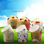 24pcs Muffin Cupcake Baking Cup Paper For Party Wedding Birthday Kitchen,Dining & Bar