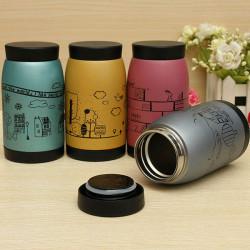 250ml Cartoon Stainless Vacuum Flasks Thermoses Milk Mug Water Cup