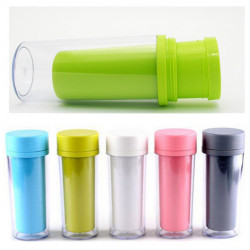 300ML Travel Mug Portable Plastic Water Bottle Cup Double Layer Cup
