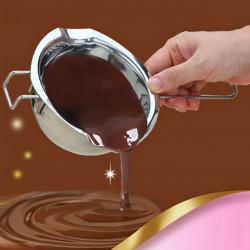 304 Rostfritt Stål Chocklad Vatten Motsätter Pot Smör Uppvärmd Bowl