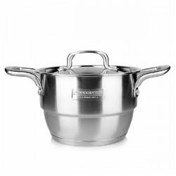 304 Rostfritt Stål Composite Botten Matlagning Stew Soppa Potten