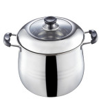 304 Stainless Steel Stockpot Large Takanabe Soup Pot Kitchen,Dining & Bar