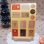 30 Sheets Valentine's Day Gift Baking  Sealing Paste Just For You Kitchen,Dining & Bar