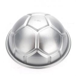 3,2 Zoll 3D Football Aluminium DIY Geburtstags Kuchen Backen Jello Pan Mould