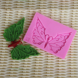3D Butterfly Silicone Lace Mold Fondant Cake Decorating Mould