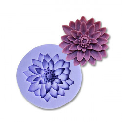 3D Chrysanthemum Silicone Fondant Mold Cake Decorating Mould