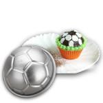 3D Fodbold Formet Aluminium Fødselsdagskage Bagning Mould Køkken