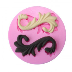 3D Leaf Silicone Lace Fondant Mold Cake Decorating Mould
