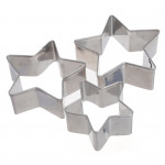 3 Pcs Star Shape Cookie Pastry Cake Decorating Cutter Kitchen,Dining & Bar