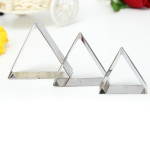 3 Pcs Triangle Stainless Steel Cookie Cake Biscuit Cutter Mold Set Kitchen,Dining & Bar