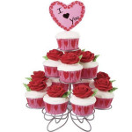 3Tier 13 Cupcake Wedding Birthday Party Stand Cup Cake Holder Kitchen,Dining & Bar