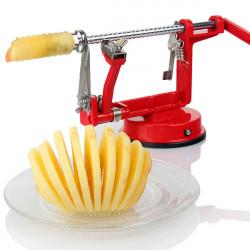 3in1 Apple Slinky Maskin Peeler Corer Potatis Frukt Cutter Slicer