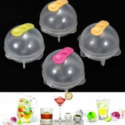 4Pcs Plastic Round Ice Cube Ball Brick Freeze Tray Sphere Molds