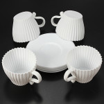 4pcs Cupcakes Muffin Baking Mould Chocolate Tea Cup Case Kitchen,Dining & Bar