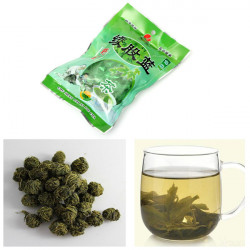 50G Chinese Jiaogulan Green Herbal Flower Herbal Gynostemma Tea