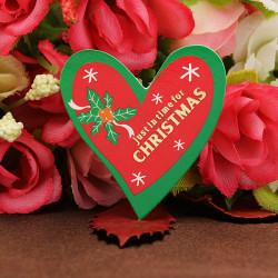 50stk Weihnachten Liebes Herz Kuchen Einsatz Karte Kuchen Dekoration