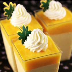50 Pcs Green Maple Leaf Cupcake Cake Insert Card Cake Decoration