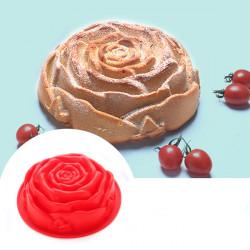 5stk Rose Formet Kage Forme Chokoladeform Bagning Værktøj